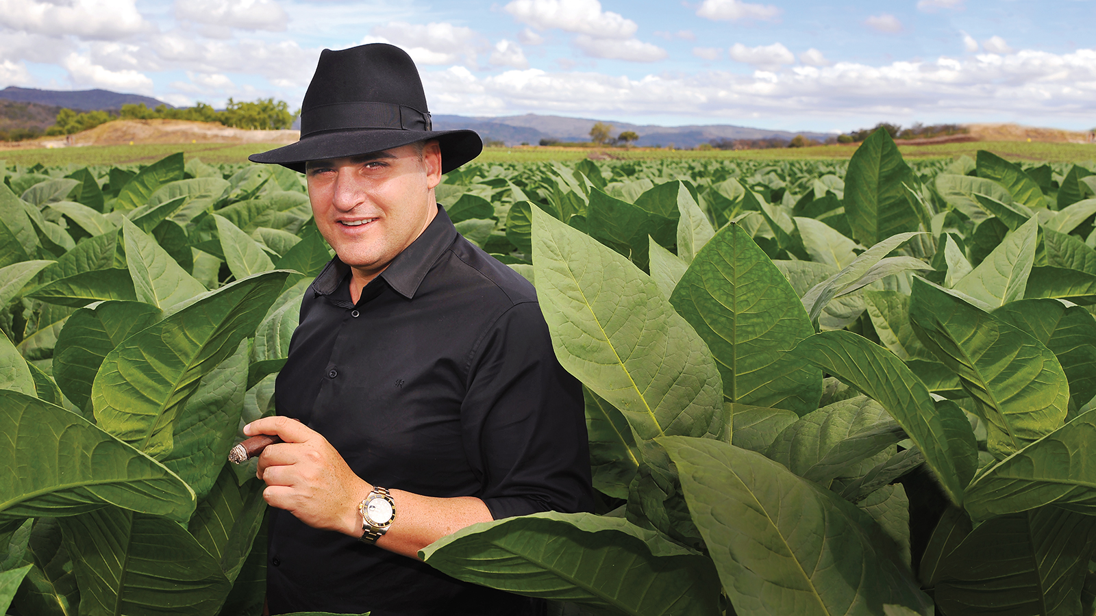 One of many tobacco fields in Estelí owned and farmed by A.J. Fernandez.
