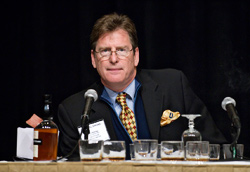 Senior features editor Jack Bettridge led the audience through a tasting of five wonderful bourbons.