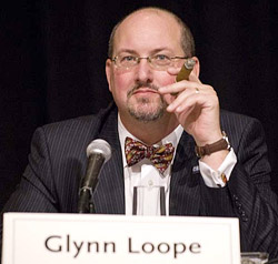 J. Glynn Loope of the CRA gave smokers hope in the fight for the right to enjoy a fine cigar.