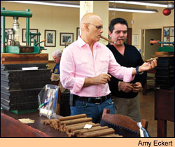 The family of Ernesto Perez-Carrillo has made cigars in Miami for 40 years.