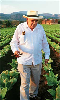 Patriarch Alberto Turrent got a humble start in the family business, driving tobacco trucks.