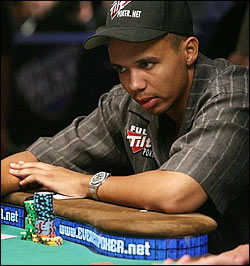 Phil Ivey, known as the Tiger Woods of poker, once won $16 million in three days playing heads-up against Texas billionaire Andy Beale.