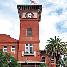 The El Reloj Factory in Ybor City, Florida.