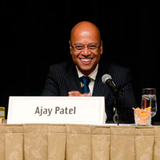 Ajay Patel, proprietor of the United Kingdom's only Casa del Habano, Habanos S.A.'s official franchise for Cuban cigars.