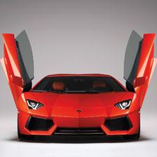 Best supercar: Lamborghini Aventador