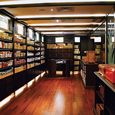 A survey of leading cigar stores around the world, such as the glorious Casa del Habano in Dubai (above) reveals trends in the Cuban cigar marketplace.
