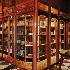 Modern vintage Cuban cigars, such as those inside the walk-in humidor at Havana's Casa del Habano at Quinta Avenida, are among the finest ever made.