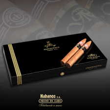 The Montecristo Gran Reserva No. 2 is made with extra-aged tobacco.