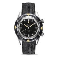 Jaeger-LeCoultre's limited edition, retro-styled Memovox Tribute to Deep Sea LeCoultre Spécial Amérique 1959.