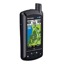 The SkyCaddie SGXw offers three-inch color screen with detailed views of almost 30,000 courses.
