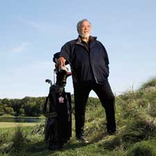 Herb Kohler, the chairman of the Kohler Company, on the Blackwolf Run course at the American Club in Wisconsin.