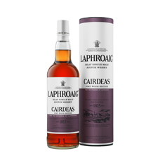 Cáirdeas, released this summer, is Laphroaig's unique expression for 2013 and uses a finish of 15 months in a half-size Port cask after eight years in a former Bourbon barrel.
