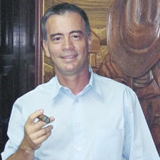 Maique, the new copresident of Habanos, has been working around tobacco since '87.