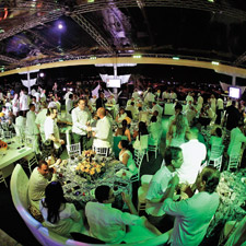 ProCigar's White Party was one of three dinners held in Santiago during the festival.