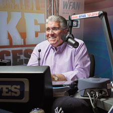 "New York native Mike Francesa, known as ""The Sports Pope,"" began his career as a studio analyst with CBS Sports and now regularly leads the sports radio ratings race."