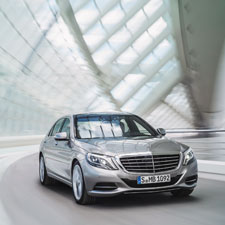 The Mercedes S-Class, with Distronic technology, will apply its own brakes for anticipated collisions and correct its path when the driver dozes off.