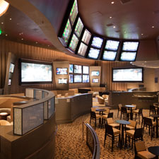 A look inside ARIA's state-of-the-art, 10,000-square-foot Race & Sports Book.