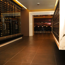 Private lockers and a great wine and spirits selection highlight Civil Cigar Lounge.