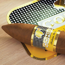 The 2012 release of the Cohiba Píramides Extra created a longer, fatter version of a standard Cuban pyramid.