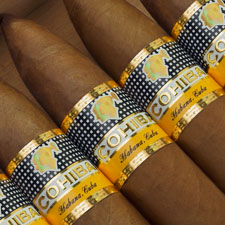 The Cohiba Pirmides Extra is the first pyramid in the Cohiba line thats not an Edicin Limitada or Regional Edition.