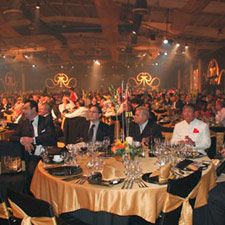 The gala dinner at the 2009 Habanos Festival.