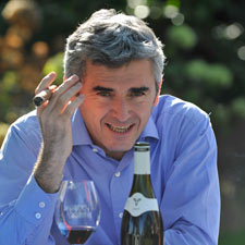 Franck Duboeuf at his winery in Romanche-Thorins, France.