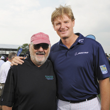 Els for Autism Charity Pro-Am golf tournament co-founders Ernie Els and Marvin R. Shanken,  editor and publisher of Cigar Aficionado and Wine Spectator, hosted the 2013 event.