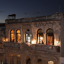 La Guarida, one of Cuba's best restaurants, occupies the top floor of a weathered building in Central Havana.