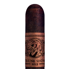 The YG-23 is a 7 inch by 60 ring cigar that comes dressed with a swatch of smokable homogenized tobacco leaf as its band.