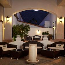 Havana Club's outdoor seating area.