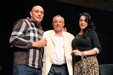 Pictured at the 2013 Las Vegas Big Smoke is the Garcia family: José