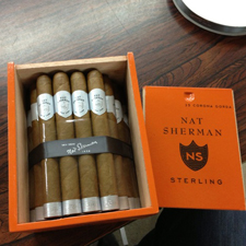 Sterling's packaging was chosen specifically for cigar enthusiasts who wish to collect and age the product.