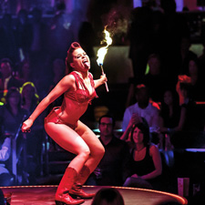 The Cosmopolitan in Las Vegas tries to keep high-rollers in-house with a novel nightclub concept called Rose. Rabbit. Lie.