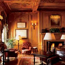 The Cloister's smoking lounge is an especially comfortable place to enjoy a cigar.