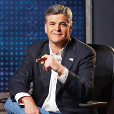 Sean Hannity doesn't often have time for relaxing with a cigar, but before he hits the first ball when he's playing golf, he lights one up.